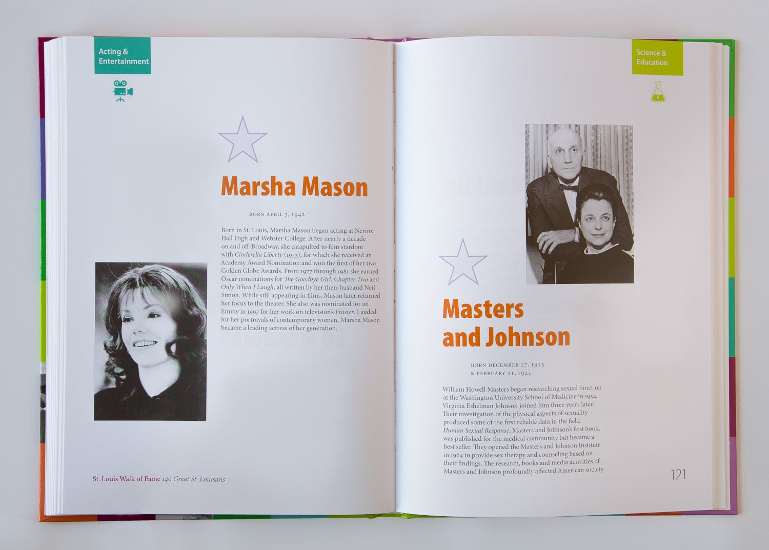 St. Louis Walk of Fame book design